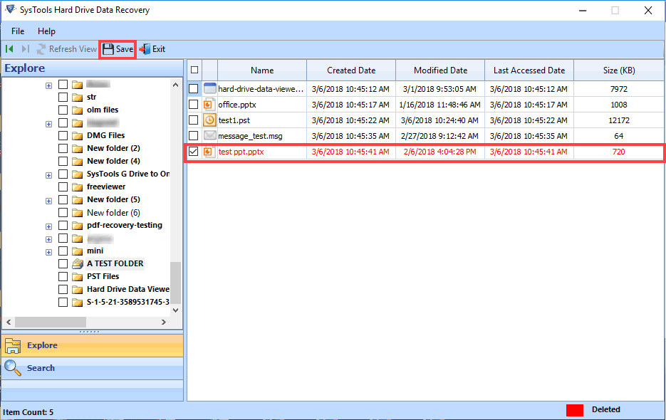 Advanced NTFS Data Recovery Tool 9.0